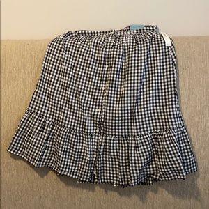 Checkerboard skirt size medium